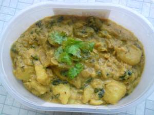 potato methi sabji