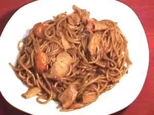 Red Spaghetti - Stir Fried