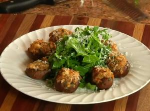 Shrimp & Italian Sausage Stuffed Mushrooms and How to Keep Produce Fresh