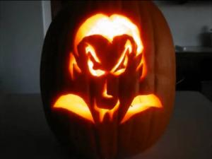 Betty's Husband, Rick, Carves Jack O'Lantern with Grandson for Halloween