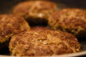 Hazelnut And Tomato Rissoles