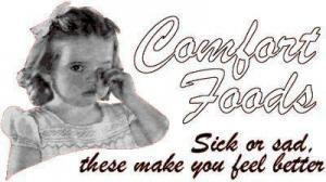 Comfort foods for comfort reasons