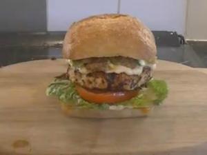 You Generation Hawaiian Chicken Burgers - MYVIRGINKITCHEN