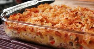Thanksgiving Leftover Turkey Noodle Casserole
