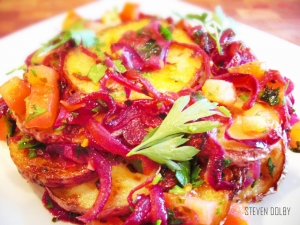 Red Potato Lyonnaise