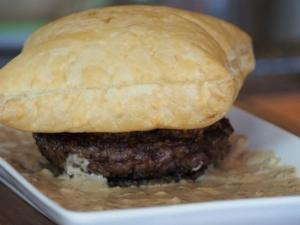 Beef Wellington Burger- Hampton's on Sutter