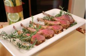 Homemade Rack of Lamb