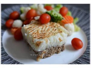 Broiled Meat and Potatoes Shepherds Pie