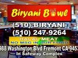 Indian Restaurant Biryani Bowl in Fremont CA