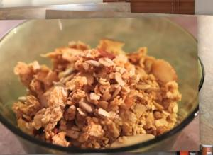 Homemade Nutritious Breakfast Cereal