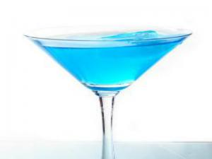 The Blue Diamond Cocktail
