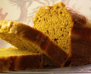 Pumpkin Oatmeal Bread