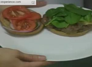Healthy Buffalo Hamburger