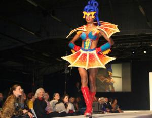 New York Fashion Show Of Chocolate Super Heroes