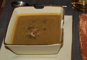 Vegan Zucchini Cilantro Soup