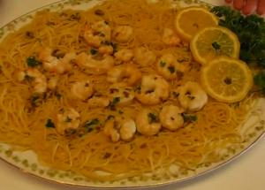 Seaside Shrimp Scampi with Angel Hair Pasta