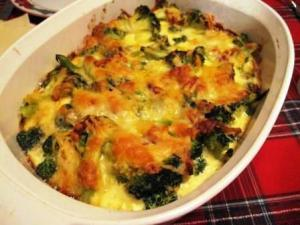Broccoli With Parmesan Crust