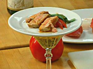 Tuna And Roasted Pepper Tapas