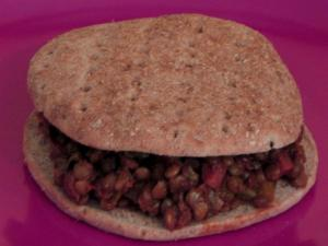 Vegan Sloppy Joes with Lentils