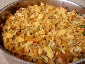 Tuna And Chips Casserole