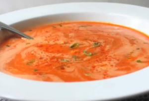 Super Quick Tomato Crab Bisque