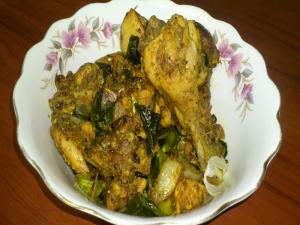 Chicken Mozhu Fry