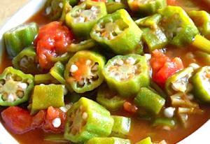 Easy Okra Bowl