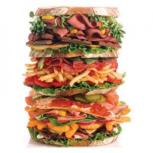 Junk food contains saturated fats that can damage sperms