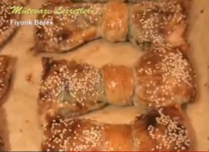 Turkish Fiyonk Börek