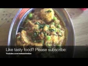 Dhaba Style Aloo Matar Recipepotatoes And Peas Curry 1020357 By Eateastindian
