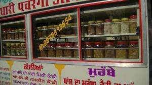 Indian Street Food Pickleshow Pickles Are Sold In Streets Of Punjab 1020354 By Eateastindian