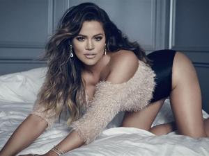 Khloe Kardashian Gets Down On All Fours For Racy Shoot