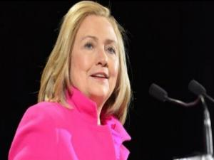 Hillary Clinton Talks Womens Rights At Manhattan Summit