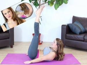 Yoga Workout For Abs 4 Mins Yoga For Abs 1