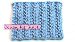 Corded Rib