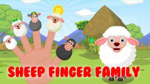 Sheep Finger Family
