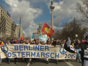 Thousands Join Annual Easter Peace March In Berlin