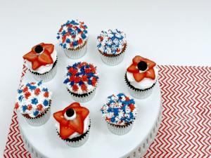 How To Make Patriotic Cupcakes