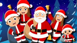 Santa Claus Finger Family