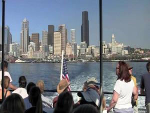 A Ride On The King County Water Taxi In Seattle Wa