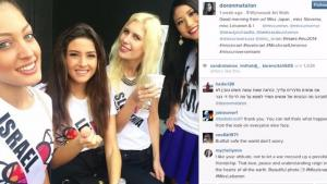 Miss Universe Selfie Causes Controversy
