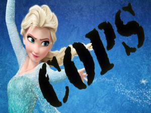 Frozen Elsa Wanted By Police
