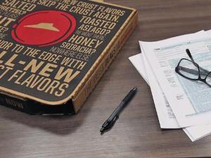 Pizza Hut Launches Tax Day Pizza Return