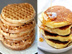 Waffles Are Better Than Pancakes