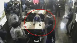 Guy Remains Unimpressed As Armed Men Storm Restaurant