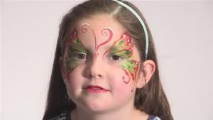 How To Do Butterfly Face Paint 10035028 By Videojug