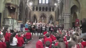 Let It Go Christmas Flashmob By Junior School Staff