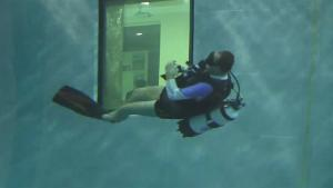 Dive 14 Storeys Down At The Deepest Pool In The World