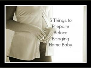 5 Things To Prepare Before Giving Birth
