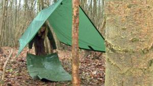 How To Create A Bivouac Shelter 10042639 By Videojug